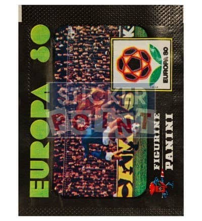 Panini EUROpa 80 Packet Euro 1980 Front