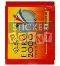 Panini EURO 2000 Packet - original With Stickers