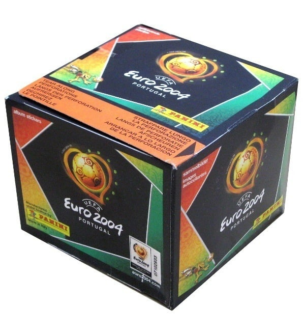 Panini Euro 2004 Box With 50 Packets