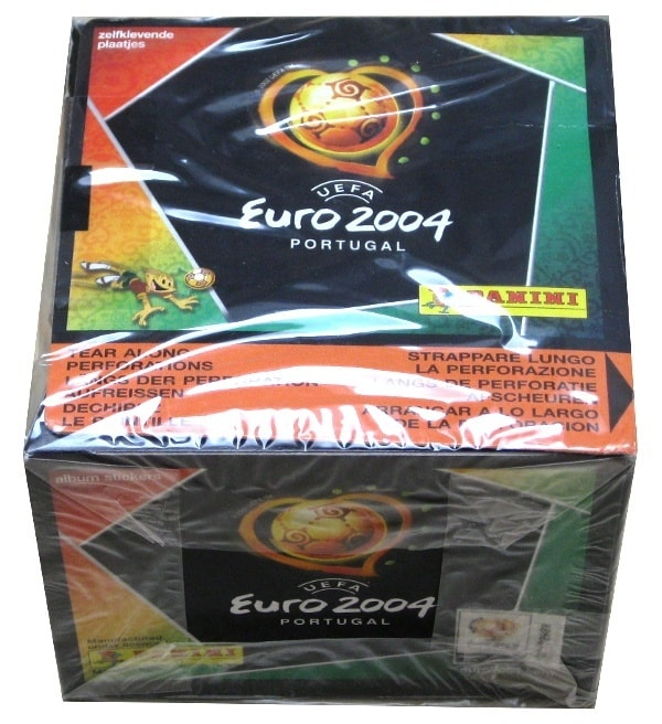 Panini Euro 2004 Display With 50 Packets