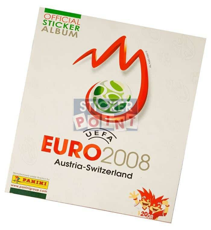 Panini EURO 2008 High Gloss-Set Album Front