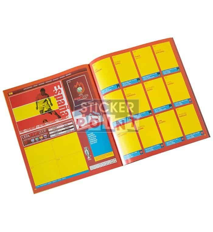 Panini EURO 2008 High Gloss-Set Album Inside