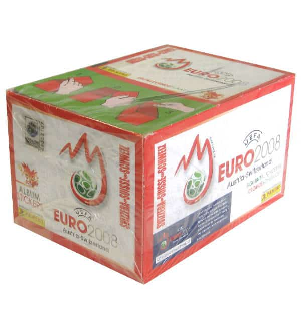 Panini EURO 2008 Display Switzerland
