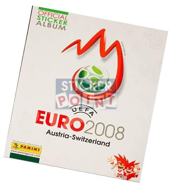 Panini EURO 2008 Empty Album German Front