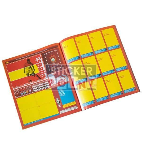 Panini EURO 2008 Empty Album Inside