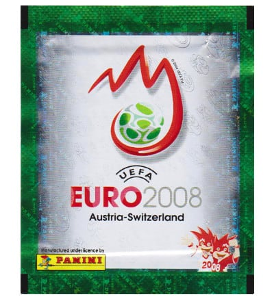 Panini EURO 2008 Packet - South America Version