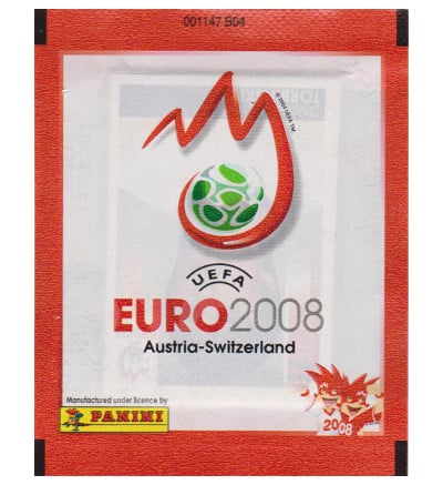 Panini EURO 2008 Packet - Red Version