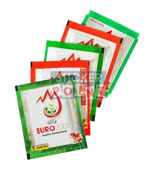 Panini EURO 2008 5 Packets Front