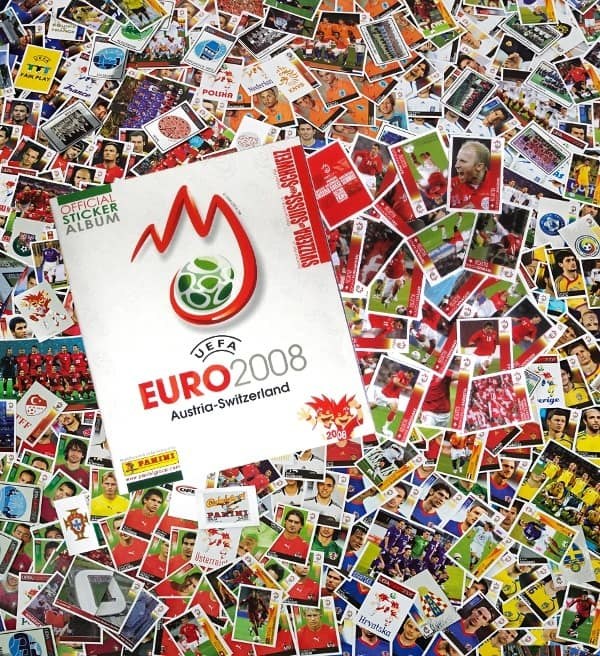 50 plena bolsas!!! Panini euro 2008