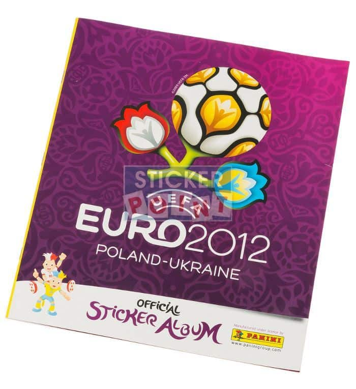 Panini EURO 2012 Album International Cover