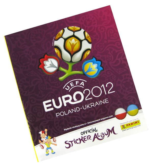 Panini Euro 2012 Album Version Poland Ukraine