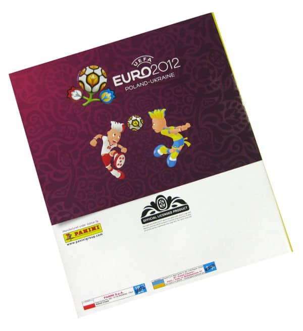 Panini Euro 2012 Album Version Poland Ukraine Back