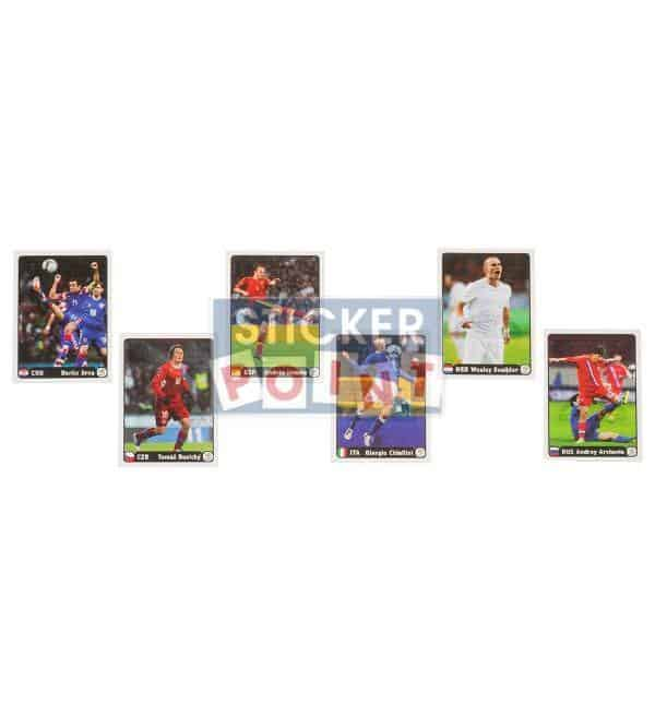 Panini EURO 2012 Special Stickers A-F Front
