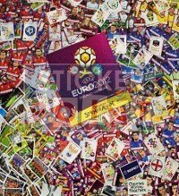 Panini EURO 2012 Complete Set - All Stickers + Album