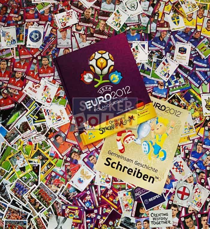 Panini EURO 2012 All Stickers with Hardcover Album Front