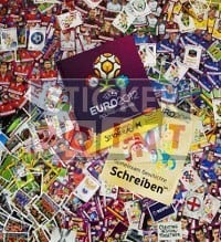 Panini EURO 2012 Deluxe Set - All Stickers + Hardcover Album