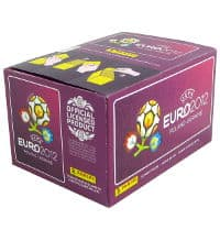 Panini Euro 2012 Purple Box With 100 Packets