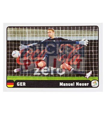 Panini EURO 2012 Manuel Neuer Sticker 1 of 6 Front
