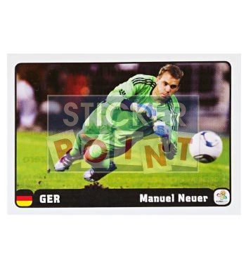Panini EURO 2012 Manuel Neuer Sticker 3 of 6 Front