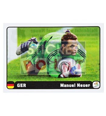 Panini EURO 2012 Manuel Neuer Sticker 6 of 6 Front