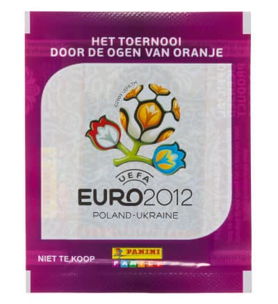 Panini Euro 2012 Packet Albert Heijn Edition Netherlands