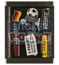 Panini EURO 2012 Coke Zero Sticker-Packet