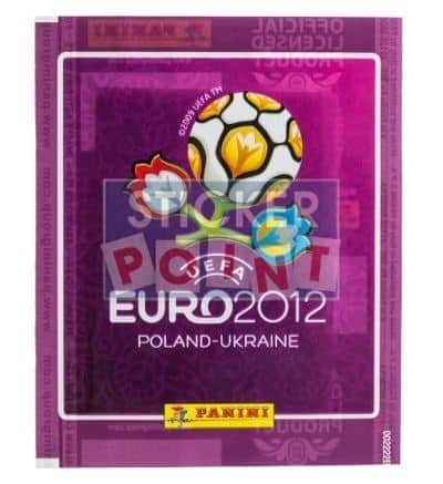 Panini EURO 2012 Packet Purple International Front View