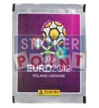Panini EURO 2012 Packet - Silver Edge