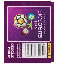 Panini EURO 2012 Packet aus Canada With 7 Stickers