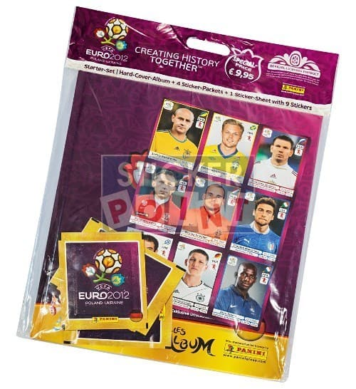 Panini EURO 2012 Hardcover Starter Front