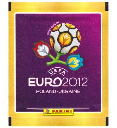Panini EURO 2012 Sticker Packet - International Version