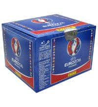 Panini EURO 2016 Stickers - box with 100 Packets