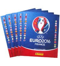 Panini EURO 2016 - 5 Sticker Albums 2nd Choice