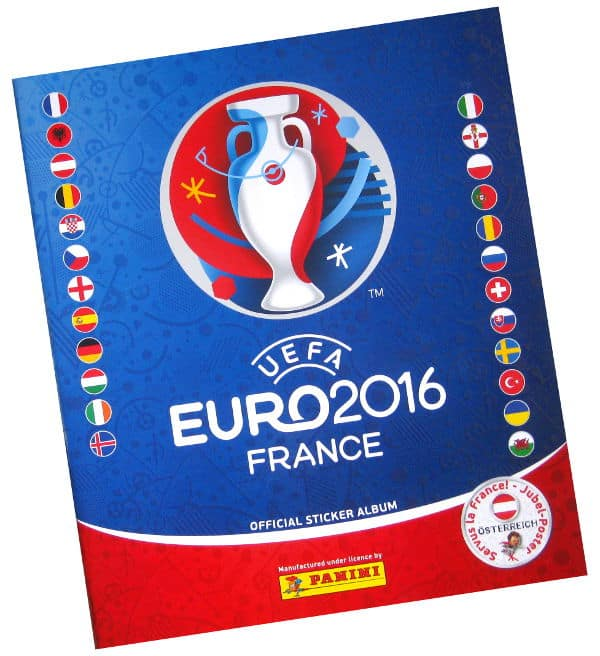 Panini EURO 2016 Sticker Album Austria
