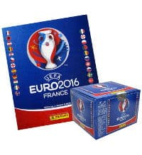 Panini EURO 2016 - 1 Album + 1 Box with 100 Packets