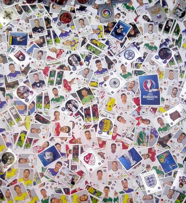 Panini EURO 2016 all 680 stickers