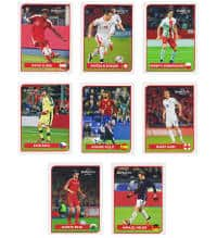 Panini EURO 2016 Coca Cola Stickers Austria A to H