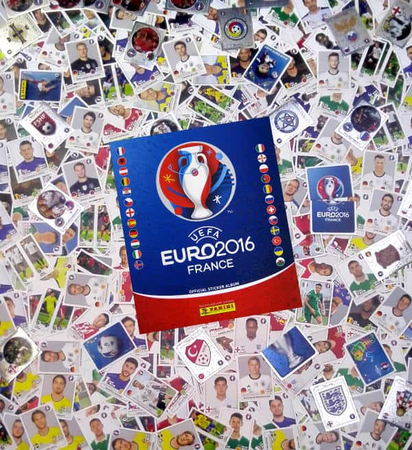 Panini EURO 2016 Complete Set - all 680 Stickers + Album fad0b79262ddf