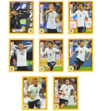 Panini EURO 2016 - Special Stickers M1 to M8