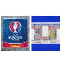 Panini EURO 2016 Sticker Packet Without Barcode