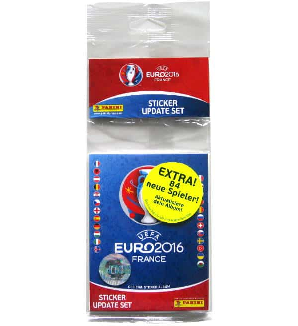 Panini EURO 2016 Update Set - 84 Stickers