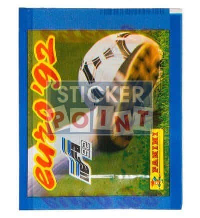 Panini Euro 92 Sticker Packet Front View