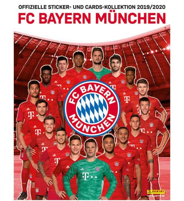 Panini FC Bayern Munich 2019/2020 Stickers + Cards Album