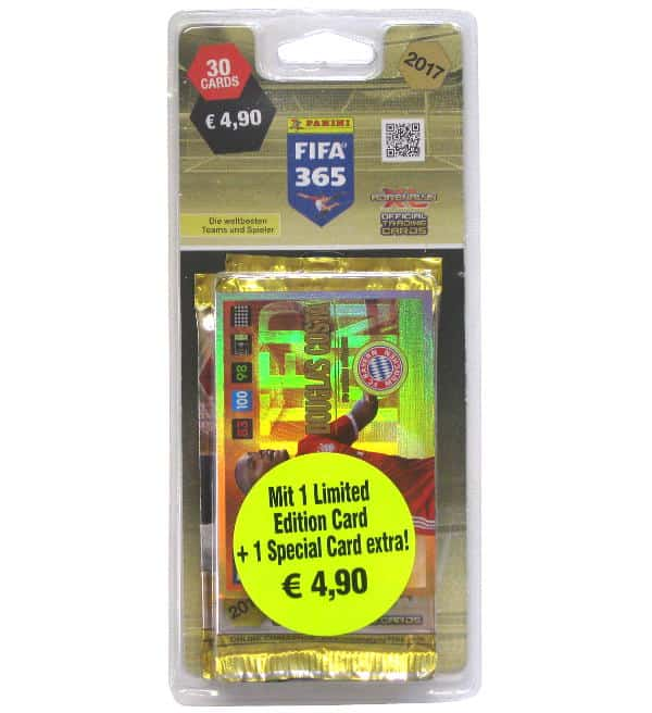 Panini FIFA 365 2017 Adrenalyn XL blister