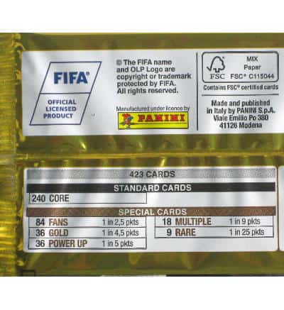 Panini FIFA 365 2017 Adrenalyn XL Booster legend