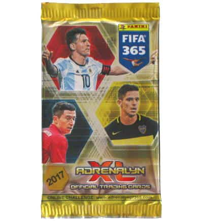 Panini FIFA 365 2017 Adrenalyn XL booster with 6 cards