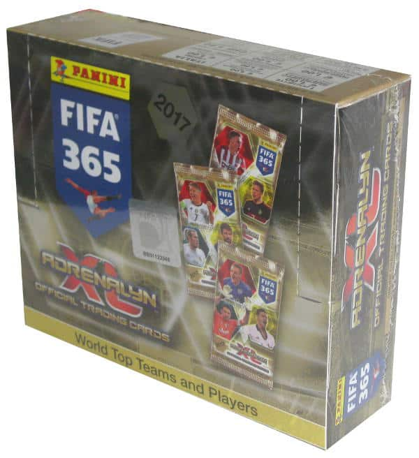 Panini FIFA 365 2017 Adrenalyn XL box with 24 boosters