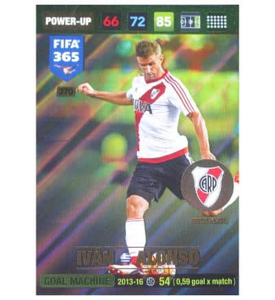Panini FIFA 365 2017 Adrenalyn XL Card Power Up Ivan Alonso