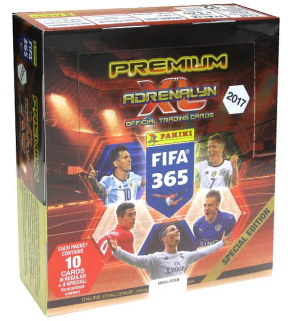 Panini FIFA 365 2017 Adrenalyn XL Premium Box