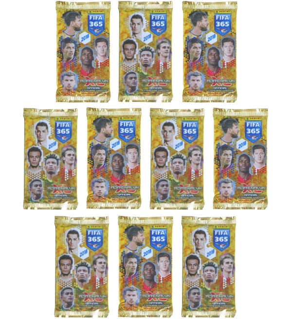 Panini FIFA 365 2018 Adrenalyn XL - 10 Packets